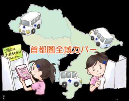 地域情報誌・フリーペーパー配送サポートサービス