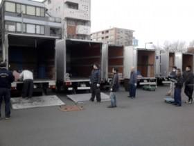 神奈川県内「選挙機材運搬」作業