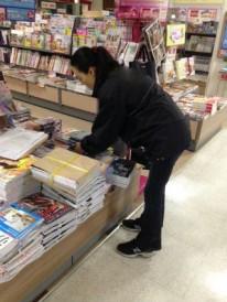 ムック誌の書店販促作業。 これから作業に取り掛かります。