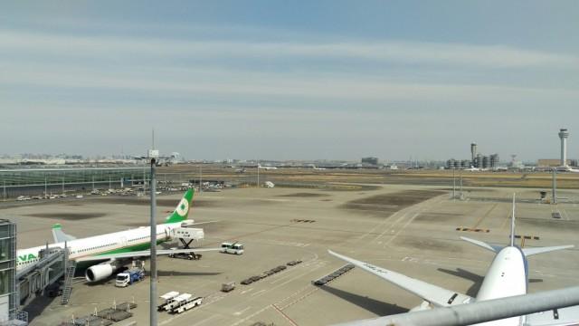 羽田空港国際ターミナルの風景