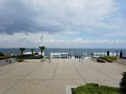 東京湾アクアライン・海ほたるの展望台前の風景②