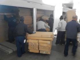 神奈川県内にて選挙機材運搬中(投票箱)