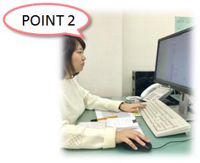 フリーペーパー配送サポートサービスのポイント 現場の細かい報告も致します。