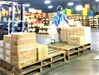 厚木市から大田区までのネジ類製品の搬入