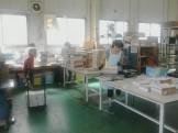 仕分け、梱包作業、横浜市、地域情報誌のチラシ仕分け中です。