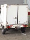 保冷軽貨物車で神奈川県川崎市巡回しています
