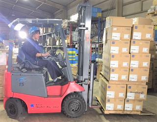 神奈川県川崎市川崎区倉庫保管から発送まで対応しています。