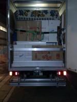 リサイクルショップの業務にて使用の2tトラック (ロング)。 湘南方面にて活動中。