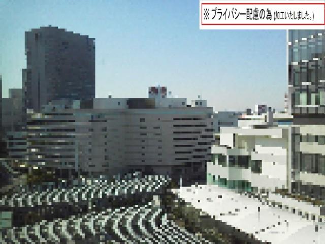 横浜の高層マンションへ配送中に出会った景色(加工済)2