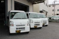 運送サービス軽貨物。 軽自動車3台。