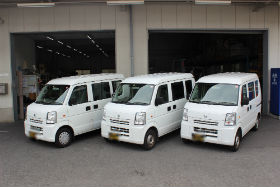 神奈川県配送スタッフ募集 ※車両写真。