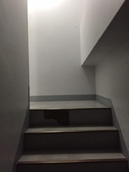搬入時、階段を通る経路です。