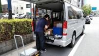 企業専属便(大手電機メーカー)運搬作業
