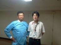 東邦大学大森病院にて、「山崎さん」と「ご担当者様」