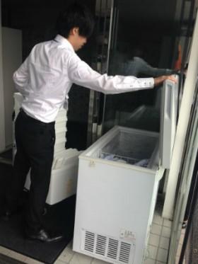 神奈川県内 検体輸送。 保冷用具持ち出し。