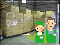在庫管理から販売応援サポートまで幅広く対応致します