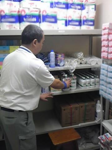 静岡・千葉エリアの病院・ケアセンターへの消耗品の補充作業