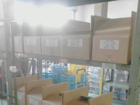横浜市内 学校書類 棚を使用し仕分け。